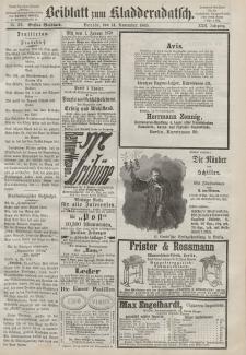 Kladderadatsch, 22. Jahrgang, 14. November 1869, Nr. 52 (Beiblatt)