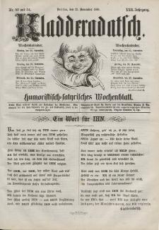 Kladderadatsch, 22. Jahrgang, 21. November 1869, Nr. 53/54