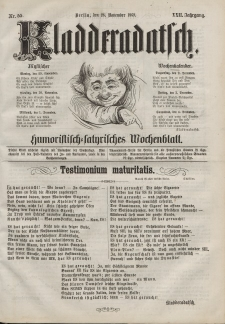 Kladderadatsch, 22. Jahrgang, 28. November 1869, Nr. 55
