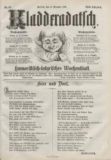 Kladderadatsch, 22. Jahrgang, 12. Dezember 1869, Nr. 57