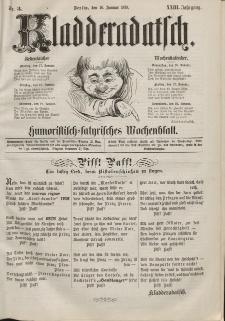 Kladderadatsch, 23. Jahrgang, 16. Januar 1870, Nr. 3