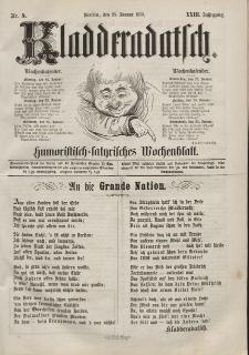 Kladderadatsch, 23. Jahrgang, 23. Januar 1870, Nr. 4