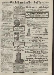 Kladderadatsch, 23. Jahrgang, 24. April 1870, Nr. 19 (Beiblatt)