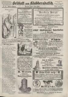 Kladderadatsch, 23. Jahrgang, 5. Juni 1870, Nr. 26 (Beiblatt)