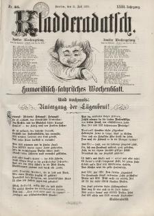 Kladderadatsch, 23. Jahrgang, 31. Juli 1870, Nr. 35