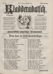 Kladderadatsch, 23. Jahrgang, 4. September 1870, Nr. 41