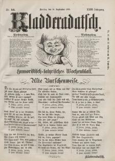 Kladderadatsch, 23. Jahrgang, 18. September 1870, Nr. 43