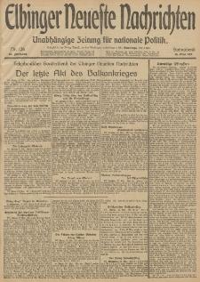 Elbinger Neueste Nachrichten, Nr. 126 Sonnabend 10 Mai 1913 65. Jahrgang