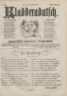 Kladderadatsch, 23. Jahrgang, 2. Oktober 1870, Nr. 46