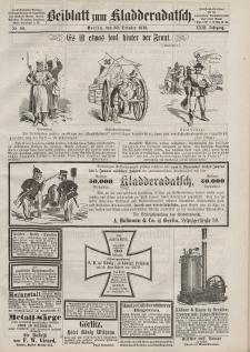 Kladderadatsch, 23. Jahrgang, 30. Oktober 1870, Nr. 50 (Beiblatt)