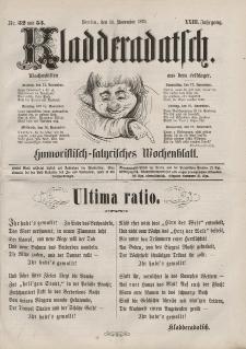 Kladderadatsch, 23. Jahrgang, 13. November 1870, Nr. 52/53
