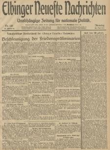 Elbinger Neueste Nachrichten, Nr. 128 Dienstag 13 Mai 1913 65. Jahrgang