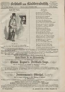 Kladderadatsch, 23. Jahrgang, 11. Dezember 1870, Nr. 57 (Beiblatt)