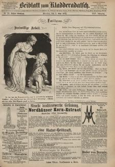 Kladderadatsch, 25. Jahrgang, 5. Mai 1872, Nr. 20 (Beiblatt)