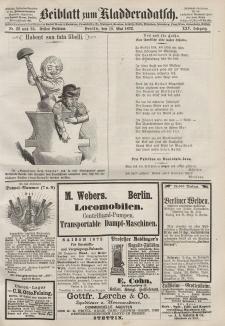 Kladderadatsch, 25. Jahrgang, 19. Mai 1872, Nr. 22/23 (Beiblatt)