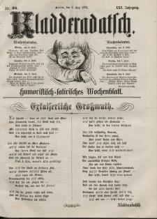 Kladderadatsch, 25. Jahrgang, 2. Juni 1872, Nr. 25