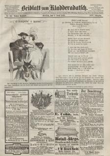Kladderadatsch, 25. Jahrgang, 9. Juni 1872, Nr. 26 (Beiblatt)