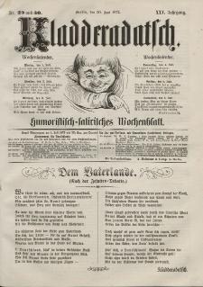 Kladderadatsch, 25. Jahrgang, 30. Juni 1872, Nr. 29/30