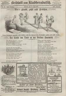 Kladderadatsch, 25. Jahrgang, 14. Juli 1872, Nr. 32 (Beiblatt)