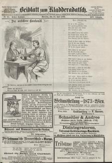 Kladderadatsch, 25. Jahrgang, 21. Juli 1872, Nr. 33 (Beiblatt)
