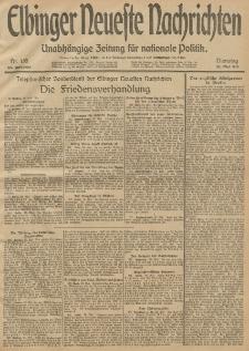 Elbinger Neueste Nachrichten, Nr. 135 Dienstag 20 Mai 1913 65. Jahrgang