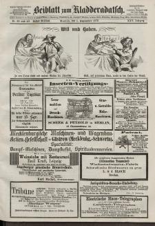 Kladderadatsch, 25. Jahrgang, 1. September 1872, Nr. 39/40 (Beiblatt)