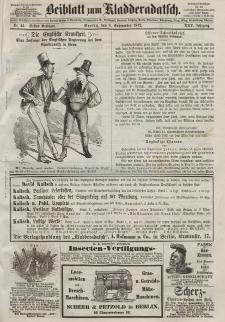Kladderadatsch, 25. Jahrgang, 8. September 1872, Nr. 41 (Beiblatt)