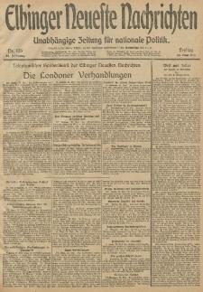Elbinger Neueste Nachrichten, Nr. 138 Freitag 23 Mai 1913 65. Jahrgang