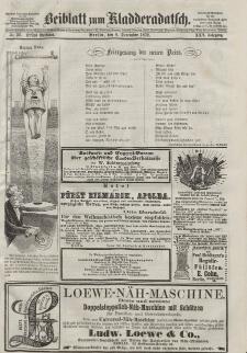Kladderadatsch, 25. Jahrgang, 8. Dezember 1872, Nr. 56 (Beiblatt)