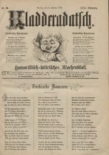 Kladderadatsch, 29. Jahrgang, 6. Februar 1876, Nr. 6