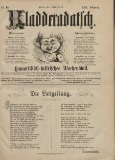 Kladderadatsch, 29. Jahrgang, 5. März 1876, Nr. 11