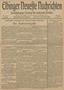 Elbinger Neueste Nachrichten, Nr. 141 Montag 26 Mai 1913 65. Jahrgang