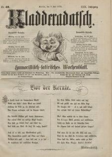Kladderadatsch, 29. Jahrgang, 9. Juli 1876, Nr. 32