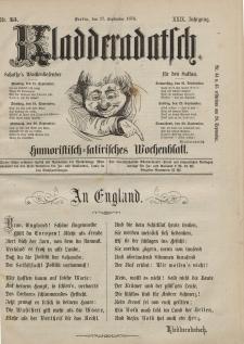 Kladderadatsch, 29. Jahrgang, 17. September 1876, Nr. 43
