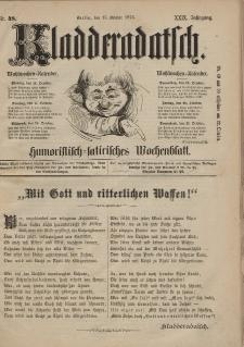 Kladderadatsch, 29. Jahrgang, 15. Oktober 1876, Nr. 48