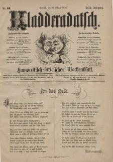Kladderadatsch, 29. Jahrgang, 29. Oktober 1876, Nr. 51