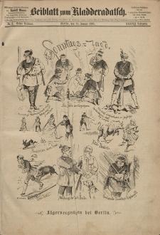 Kladderadatsch, 38. Jahrgang, 11. Januar 1885, Nr. 2 (Beiblatt)