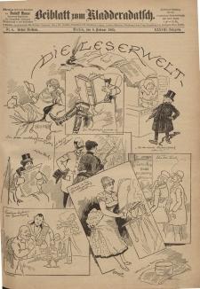 Kladderadatsch, 38. Jahrgang, 8. Februar 1885, Nr. 6 (Beiblatt)