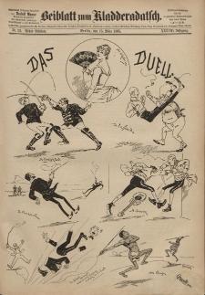 Kladderadatsch, 38. Jahrgang, 15. März 1885, Nr. 12 (Beiblatt)