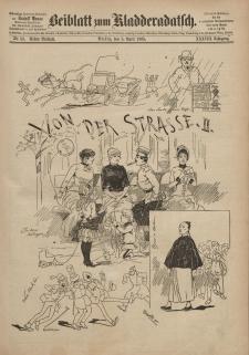 Kladderadatsch, 38. Jahrgang, 5. April 1885, Nr. 16 (Beiblatt)
