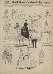Kladderadatsch, 38. Jahrgang, 14. Juni 1885, Nr. 27 (Beiblatt)