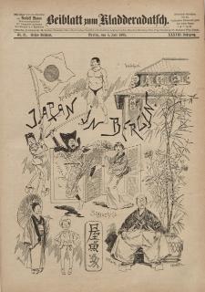 Kladderadatsch, 38. Jahrgang, 5. Juli 1885, Nr. 31 (Beiblatt)