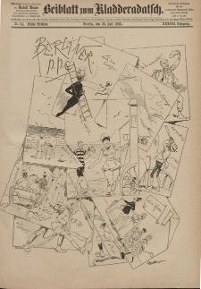 Kladderadatsch, 38. Jahrgang, 26. Juli 1885, Nr. 34 (Beiblatt)