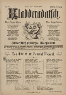 Kladderadatsch, 38. Jahrgang, 6. September 1885, Nr. 41