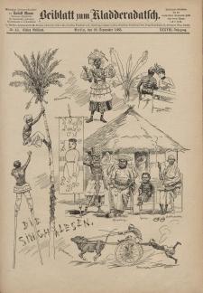Kladderadatsch, 38. Jahrgang, 20. September 1885, Nr. 43 (Beiblatt)