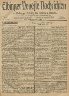 Elbinger Neueste Nachrichten, Nr. 271 Freitag 3 Oktober 1913 65. Jahrgang