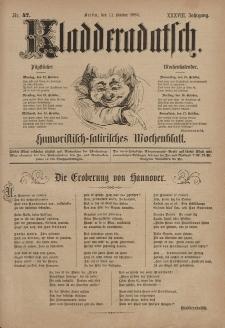 Kladderadatsch, 38. Jahrgang, 11. Oktober 1885, Nr. 47