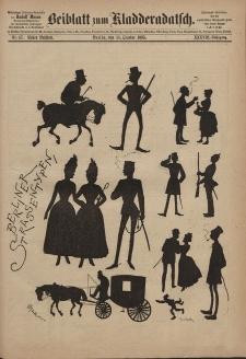 Kladderadatsch, 38. Jahrgang, 11. Oktober 1885, Nr. 47 (Beiblatt)