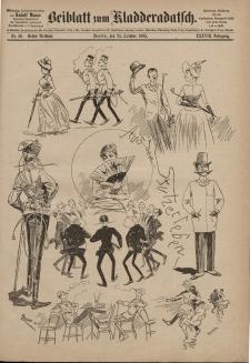 Kladderadatsch, 38. Jahrgang, 25. Oktober 1885, Nr. 49 (Beiblatt)