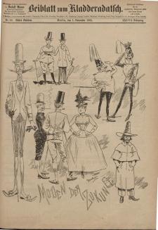 Kladderadatsch, 38. Jahrgang, 1. November 1885, Nr. 50 (Beiblatt)